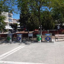kozan.gr: Πτολεμαίδα: Τέθηκαν σε λειτουργία οι βυθιζόμενοι κάδοι ανακύκλωσης απορριμμάτων (Φωτογραφίες & Βίντεο)
