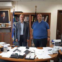 Tον Αντιπεριφερειάρχη της Π.Ε. Γρεβενών, Γιάννη Γιάτσιο επισκέφτηκε ο Εκτελεστικός Γραμματέας της Περιφέρειας Δυτικής Μακεδονίας, Γρηγόρης Γρηγοριάδης