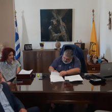 Υπογραφή σύμβασης για το έργο: «ΣΥΝΤΗΡΗΣΗ ΚΤΙΡΙΑΚΟΥ ΣΥΓΚΡΟΤΗΜΑΤΟΣ 1ου ΓΥΜΝΑΣΙΟΥ ΠΤΟΛΕΜΑΪΔΑΣ» (Βίντεο)