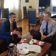Συνάντηση του δημάρχου Κοζάνης με τον πρέσβη του Αζερμπαϊτζάν – Στην κορυφή της ατζέντας η συνεργασία με το Πανεπιστήμιο