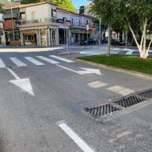 Δήμος Κοζάνης: Συνεχίζονται οι διαγραμμίσεις στις διαβάσεις του δημοτικού οδικού δικτύου