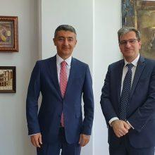 Πανεπιστήμιο Δυτικής Μακεδονίας: Επίσκεψη του  Αζέρου Πρέσβη στην Ελλάδα κ. Ανάρ Χουσεϊνοφ στο Πανεπιστήμιο Δυτικής Μακεδονίας