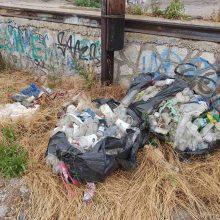 kozan.gr: Κοζάνη: Σχόλιο αναγνώστη: Σακούλες σκουπιδιών πεταμένες πίσω από τον ΟΣΕ (Φωτογραφίες)