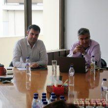 Συνάντηση της Διοίκησης του ΤΕΕ/ΤΔΜ με τον Συντονιστή του Σχεδίου Δίκαιης Αναπτυξιακής Μετάβασης των περιοχών της Δυτικής Μακεδονίας και της Μεγαλόπολης, κο Μουσουρούλη Κωστή (Φωτογραφίες)