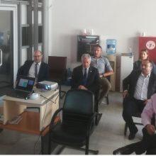 Τις εγκαταστάσεις του Εθνικού Κέντρου Έρευνας & Τεχνολογικής Ανάπτυξης/ Ινστιτούτο Χημικών Διεργασιών και Ενεργειακών Πόρων (ΕΚΕΤΑ/ΙΔΕΠ) στην Πτολεμαΐδα, επισκέφτηκε ο Κωστής Μουσουρούλης