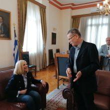 Συνάντηση του δημάρχου Κοζάνης Λάζαρου Μαλούτα με την πρόεδρο του ΚΙΝΑΛ Φώφη Γεννηματά (Φωτογραφίες)