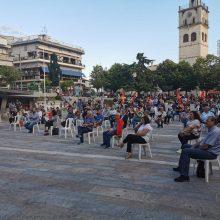 kozan.gr: Κοζάνη: Πραγματοποιήθηκε το απόγευμα της Πέμπτης 25/6 πολιτική συγκέντρωση – ομιλία του βουλευτή ΚΚΕ Γιάννη Δελλή (Φωτογραφίες)