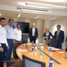 Συνάντηση του προέδρου του ΕΒΕ Κοζάνης με την διοίκηση της «Enterprise Greece»