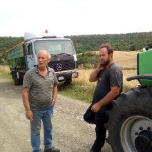 Τ.Κ. Αγ. Παρασκευής (Κοζάνης): Αγρότες μιλάνε για το αλώνισμα σιταριού (Φωτογραφίες & Βίντεο)