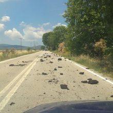 kozan.gr: Γέμισε κάρβουνο, που έπεσε από διερχόμενο φορτηγό, σε σημείο του δρόμου, στο ύψος της Κερασιάς, στον επαρχιακό δρόμο Κοζάνης – Αιανής (Φωτογραφίες)