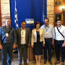 Σειρά επαφών στην Αθήνα για θέματα του Επιμελητηρίου Κοζάνης πραγματοποίησε ο Πρόεδρος Νίκος Σαρρής