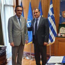 Mε τον Υπουργό Εθνικής Άμυνας Νίκο Παναγιωτόπουλο συναντήθηκε ο Γιώργος Κασαπίδης – Η αξιοποίηση ανενεργών στρατοπέδων κι η ανάδειξη της ιστορίας της περιοχής στο τραπέζι της συζήτησης