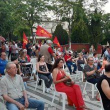 kozan.gr: Πολιτική συγκέντρωση στην κεντρική πλατεία Πτολεμαΐδας πραγματοποιήθηκε το απόγευμα της Τρίτης 30/6 στο πλαίσιο της περιοδείας του ευρωβουλευτή του ΚΚΕ Λ. Νικολάου-Αλαβάνου