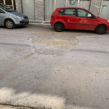kozan.gr: Σχόλιο αναγνώστη στο kozan.gr: Πρόχειρο μπάλωμα, από τις αρχές Απριλίου, στην οδό Σαγγαρίου στην Πτολεμαΐδα (Φωτογραφίες)