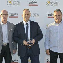 """Ο Σύνδεσμος Γουνοποιών Καστοριάς """"O Προφήτης Ηλίας"""" βραβεύτηκε με τη διάκριση """"Best International Trade Show """" από τα Exhibition Marketing Awards, τα βραβεία που αναγνωρίζουν την καινοτομία και τις καλές πρακτικές στον κλάδο των εκθέσεων"""