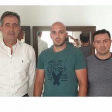 Συνάντηση του Σωματείου Πυροσβεστών Δ. Μακεδονίας με το βουλευτή Κοζάνης Ευστάθιο Κωνσταντινίδη