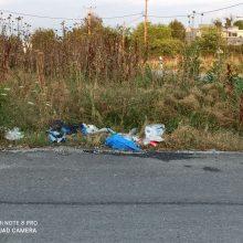 Σχόλιο αναγνώστριας στο kozan.gr, για πεταμένα σκουπίδια στην οδό Μουσών στην Κοζάνη, στην είσοδο της πόλης, στο ύψος της παλαιάς γέφυρας  (Φωτογραφίες)