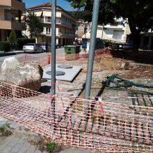 "kozan.gr: Κοζάνη: Νέα διαμαρτυρία αναγνώστριας – Οι ""Δον Κιχώτες"" μας ξέχασαν – Παρκάκι  & γηπεδάκι οδού Χαλκιδικής (Φωτογραφίες)"