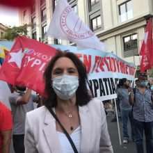 Καλλιόπη Βέττα: «Το αντιδημοκρατικό νομοσχέδιο για τις διαδηλώσεις θα καταργηθεί στην πράξη» (Bίντεο)