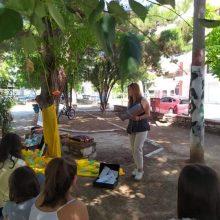 Η Χαριστική Βιβλιοθήκη Πτολεμαΐδας σκορπίζει ιστορίες στα πάρκα της πόλης