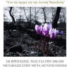 """Aυτό είναι το αναλυτικό κείμενο – πρόταση, της Δημοτικής Κίνησης """"Κοζάνη – Τόπος να Ζεις"""", για τη Δίκαιη Μετάβαση στη Μεταλιγνιτική Εποχή – Ποιο πρέπει να είναι το νέο όραμα για την Δυτική Μακεδονία"""