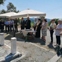 Σε Κοσμάτι και Κηπουρειό ο Δήμαρχος Γρεβενών κ.Γιώργος Δασταμάνης  για το Ολοκαύτωμα των δύο Χωριών