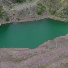 Η «Πράσινη Λίμνη» στο Μαυροδένδρι Κοζάνης  – Σημερινή (14/7) λήψη από το drone του tovoion.com