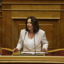 Καλλιόπη Βέττα: Αποδείχθηκε και σήμερα ότι δεν υπάρχει σχέδιο για την επόμενη ημέρα στη Δυτική Μακεδονία