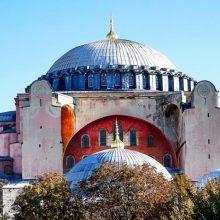 Πένθιμα χτύπησαν οι καμπάνες στον ορθόδοξο κόσμο παντού στη γη, στη χριστιανοσύνη όλη, πένθιμα χτυπούν και οι καρδιές στον πολιτισμένο κόσμο,για την Αγία Σοφία στην Κωνσταντινούπολη (του παπαδάσκαλου Κωνσταντίνου Ι. Κώστα)