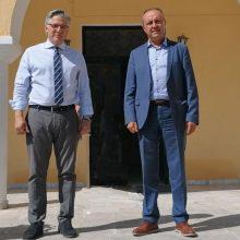 Eπίσκεψη του Υφυπουργού Εσωτερικών Μακεδονίας-Θράκης  Θεόδωρου Καράογλου στο Δήμο Βοΐου