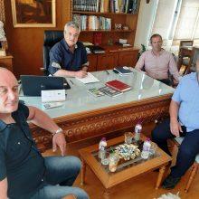 Επίσκεψη του Προέδρου του Πολιτιστικού Συλλόγου Λιβαδεριωτών Ζυρίχης στον Αντιπεριφερειάρχη της Π.Ε. Κοζάνης Γρηγόρη Τσιούμαρη – Στα σκαριά Πρωτόκολλο Συνεργασίας ανάμεσα στην Περιφέρεια και στο Σύλλογο Λιβαδεριωτών Ζυρίχης.