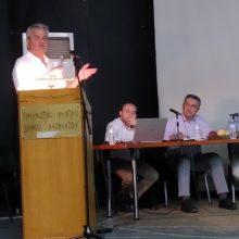 Παρουσίαση των έργων της Π.Ε. Κοζάνης για τον Δήμο Βελβεντού από τον Αντιπεριφερειάρχη κ. Γρηγόρη Τσιούμαρη