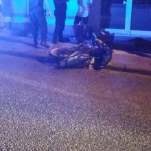 kozan.gr: Τροχαίο ατύχημα – Μηχανάκι συγκρούσθηκε με αυτοκίνητο και ΠΑΛΙ στη συμβολή των οδών Σμύρνης με Πανόρμου στην Κοζάνη (Φωτογραφίες)