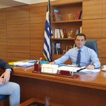 Την έναρξη έργων αποκατάστασης εδαφών και υποδομών από τη ΔΕΗ στο ενεργειακό λεκανοπέδιο έθεσε ο Περιφερειάρχης Γ. Κασαπίδης στον Υπουργό Ενέργειας Κ. Χατζηδάκη – Οι υπόλοιπες συναντήσεις του Περιφερειάρχη σε άλλα υπουργεία για θέματα της Δ. Μακεδονίας