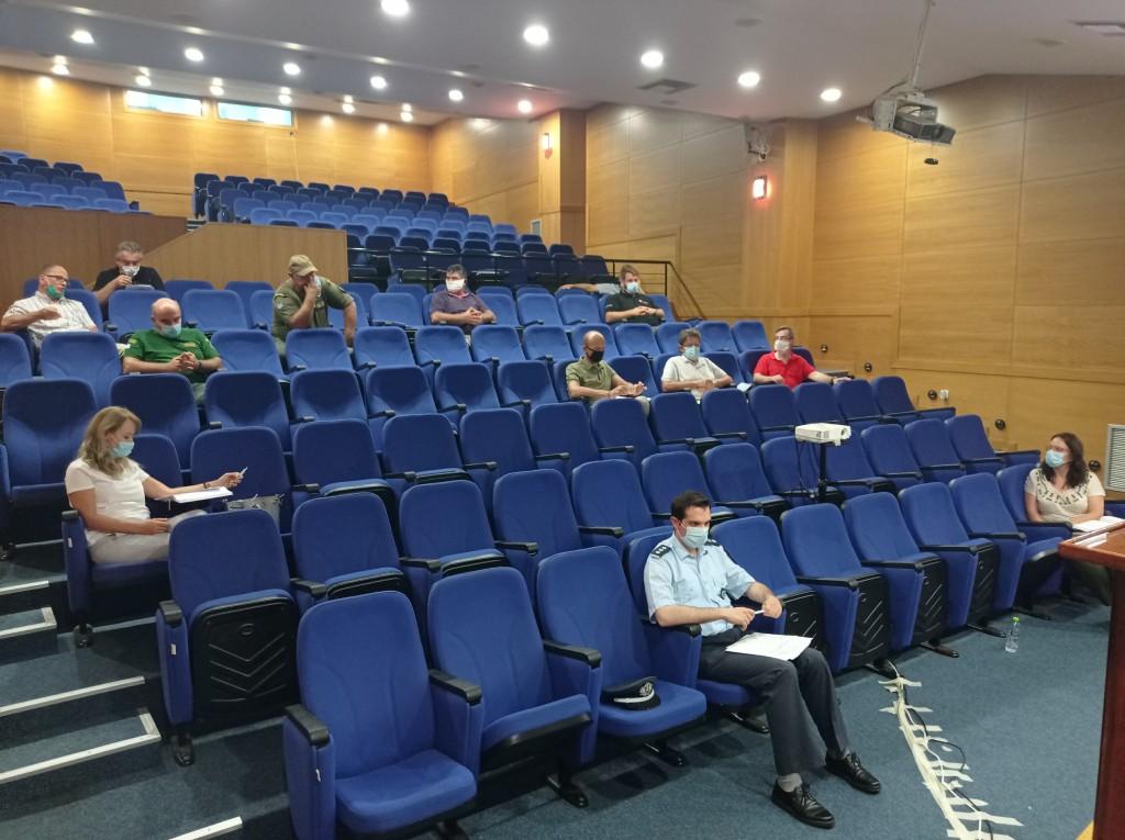 Κοζάνη: Συνάντηση εργασίας με θέμα: «Άνθρωπος και αρκούδα, στρατηγική για μια αρμονική συνύπαρξη», με πρωτοβουλία του Περιφερειάρχη Δυτικής Μακεδονίας, στο κτήριο της Περιφέρειας, στη ΖΕΠ