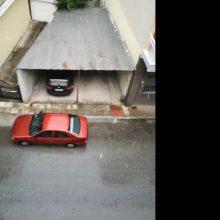 kozan.gr: Η απογευματινή χαλαζόπτωση στην πόλη της Κοζάνης (Βίντεο)