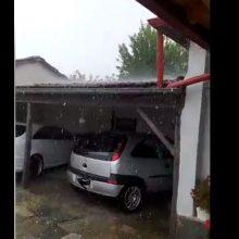 """kozan.gr: To """"έριξε"""" για τα καλά, το χαλάζι, στο Καπνοχώρι Κοζάνης (Βίντεο)"""