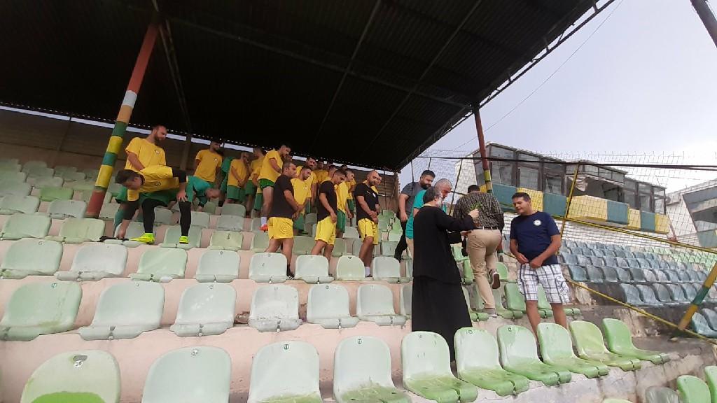 kozan.gr: Τελέσθηκε το απόγευμα της Τετάρτης 5 Αυγούστου, στο Δημοτικό Στάδιο Πτολεμαΐδας, ο αγιασμός της ομάδας του Εορδαϊκου (Βίντεο & Φωτογραφίες)