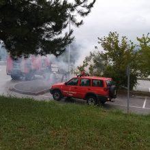 kozan.gr: Σταθμευμένο αυτοκίνητο, στο χώρο πάρκινγκ του Μποδοσάκειου νοσοκομείου Πτολεμαίδας, τυλίχθηκε στις φλόγες από άγνωστη αιτία (Φωτογραφία)