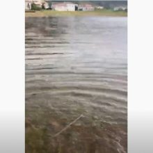 "kozan.gr: Νέα ""παραλία"" Βλάστης – Δείτε πως οι μεγάλες ποσότητες νερού, από την έντονη βροχόπτωση, μετέτρεψαν την περιοχή στην τοποθεσία «Λιβάδια»  (Βίντεο)"
