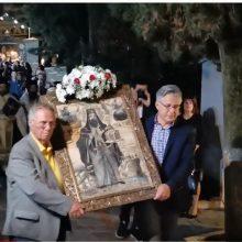 Σιάτιστα: Μέγας Πανηγυρικός Εσπερινός μετά αρτοκλασίας, στον κοιμητηριακό Ιερό Ναό του Αγίου Νικάνορος που βρίσκεται στη είσοδο της πόλης (Φωτογραφίες)