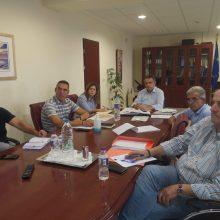 Συναντήσεις του Περιφερειάρχη Δυτικής Μακεδονίας για χωροταξικό πλαίσιο, καταρροϊκό και επενδύσεις
