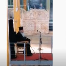 kozan.gr: Βόιο: Για πρώτη φορά, μετά από 500 χρόνια, πραγματοποιήθηκε, χθες Παρασκευή 7/8, στο χώρο  του παλαιού ναού της παλαιάς Επισκοπής Σισανίου, η παράκληση στην Παναγία (Βίντεο)