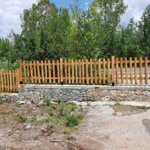 Kozan.gr: Συνεχίζονται οι εργασίες στο Κουρί Κοζάνης – Τοποθετήθηκε ξύλινη περίφραξη κατά μήκος του δρόμου κόμβος πρώην στρατοπέδου Ρωμανελη προς Πετρανά (Φωτογραφίες)