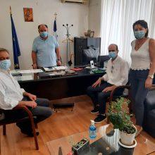 Το Κίνημα Αλλαγής στηρίζει το Ε.Σ.Υ. και τους Ανθρώπους του – Επίσκεψη σε Μαμάτσειο & Μποδοσάκειο
