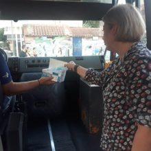 Πτολεμαΐδα: Μάσκες στους επιβάτες μοιράζει το ΚΤΕΛ Αστικών Γραμμών