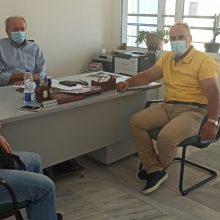 Το προεδρείο του Εργατικού κέντρου Koζάνης, την Δευτέρα 10/8, επισκέφθηκε τον ΟΑΕΔ και συναντήθηκε με τον Διευθυντή Κωνσταντίνο Κυτίδη