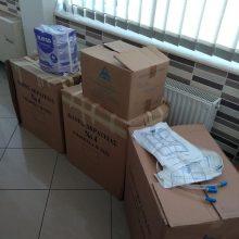 "kozan.gr: Ο Χριστιανικός Φιλανθρωπικός Σύλλογος ""O Καλός Σαμαρείτης"" παρέδωσε, σήμερα Τετάρτη 12/8, υγειονομικό υλικό στο Μποδοσάκειο νοσοκομείο Πτολεμαΐδας (Φωτογραφίες)"