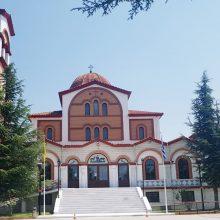 Πανηγυρίζει το Σάββατο 15/8, με αφορμή την εορτή κοιμήσεως της Θεοτόκου, ο ομώνυμος ιερός ναός της Ν. Χαραυγής Koζάνης