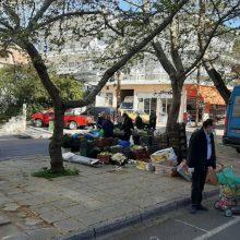 Λαϊκή αγορά Κοζάνης: Υποχρεωτική η χρήση μάσκας για καταναλωτές και επαγγελματίες